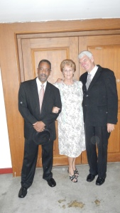 The cast of Driving Miss Daisy with Stephan Turner on the left.