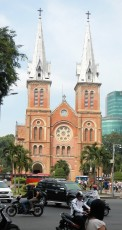 Saigon Notre-Dame Basilica, officially Basilica of Our Lady of The Immaculate Conception