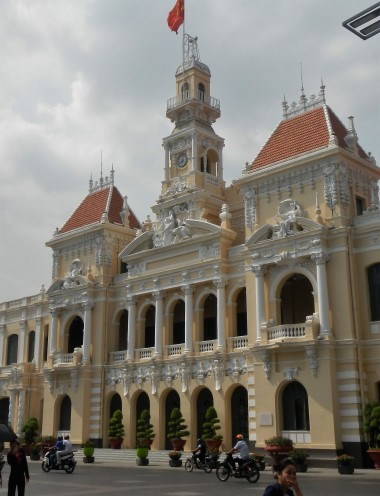 Ho Chi Minh City Hall. Also known as L'Hôtel de Ville de Saïgon