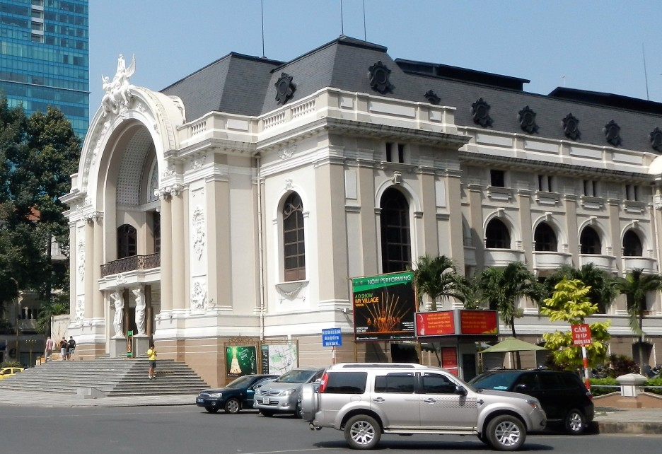 The Municipal Theatre of Ho Chi Minh City, also known as Saigon Opera House