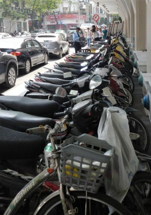 Billions and billions of motorbikes....everywhere.....
